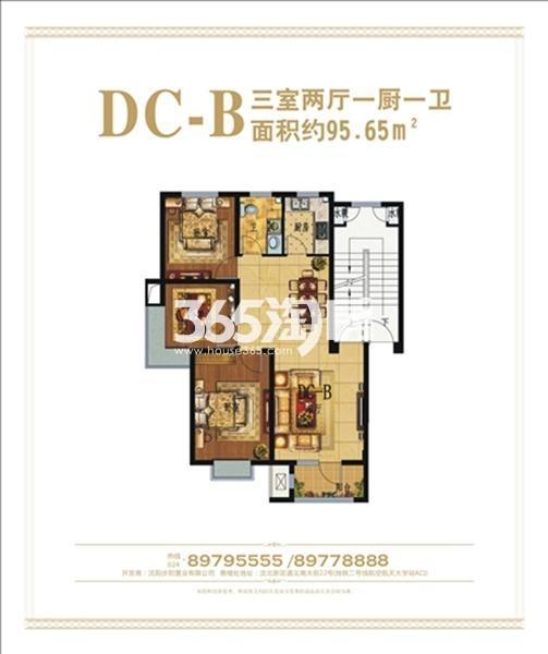 步阳江南甲第项目户型图