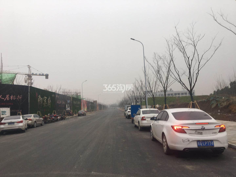 城建琥珀御宾府项目周边路况实景图(2018.5.2)
