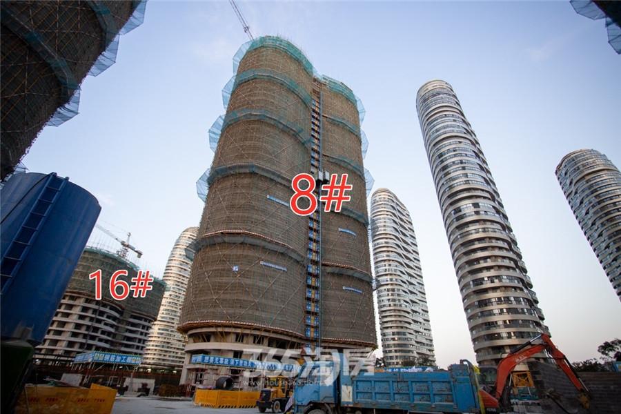 伟星长江之歌二期天誉8#、16#工程进度(2019.11摄)