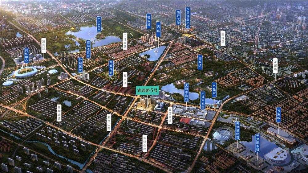 宾西路5号交通图