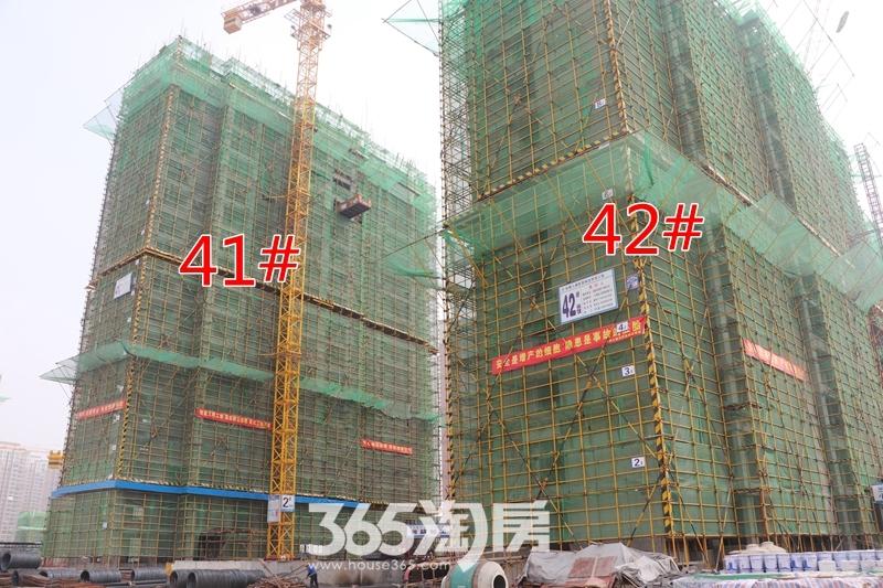 新里城41#、42#工程进度(2019.7摄)