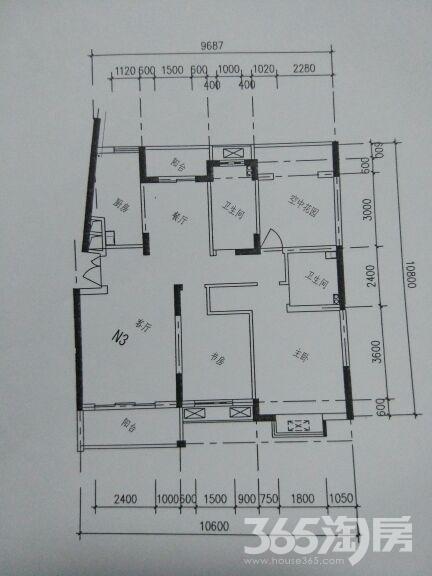 橄榄树花园(南区)3室2厅2卫