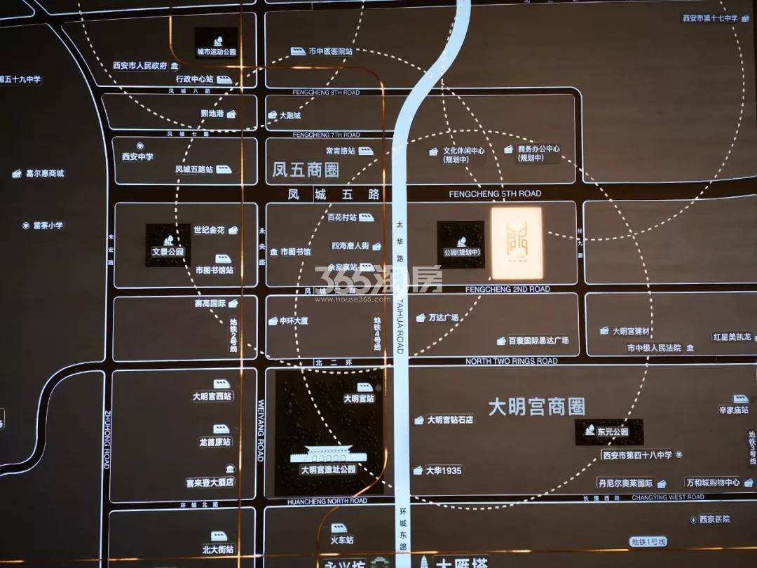 中南君启交通图