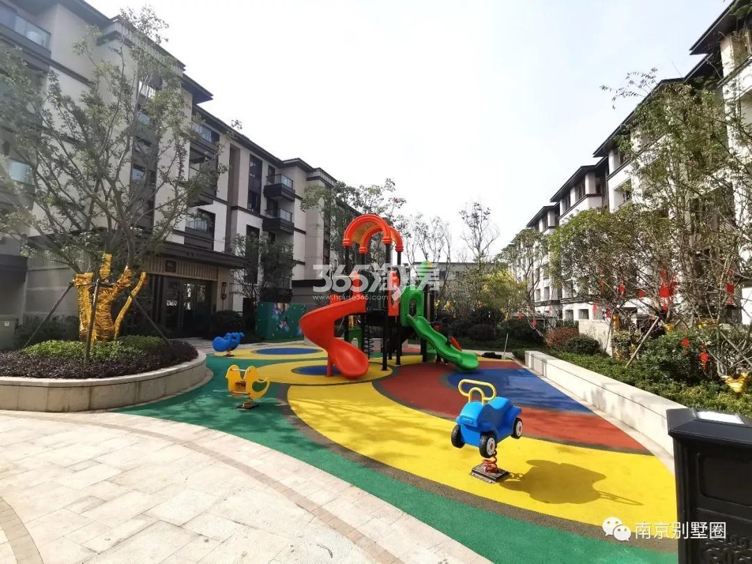 明发阅山居儿童乐园设施实景图(4.29)