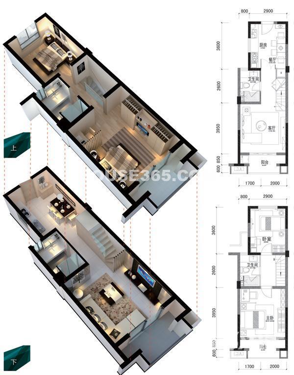 柏庄观邸2室1厅2卫92.84平米2012年产权房毛坯