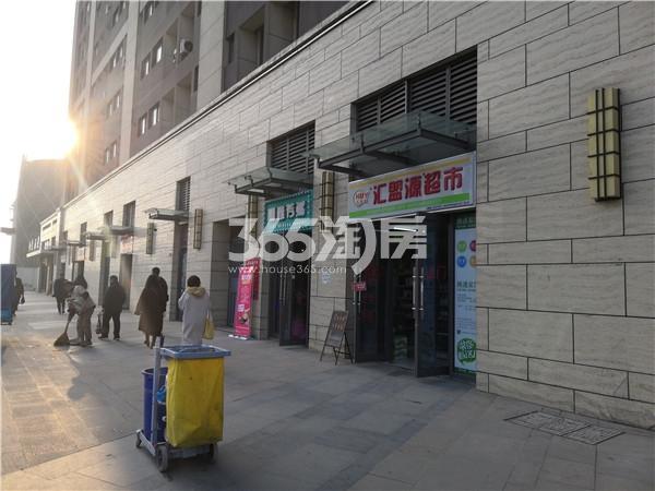 东方万汇城4#底商实景图(11.23)