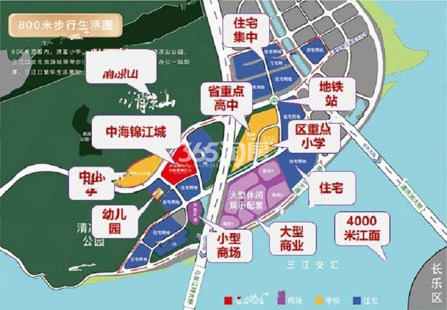 中海锦江城效果图