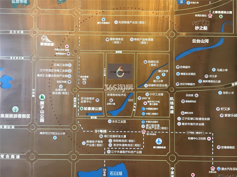 中骏六号街区区位图(12.11)