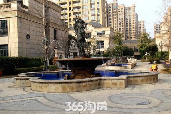 柏庄香府景观实景图(2018.1摄)