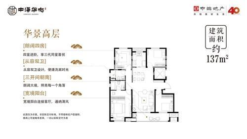中海华樾户型图