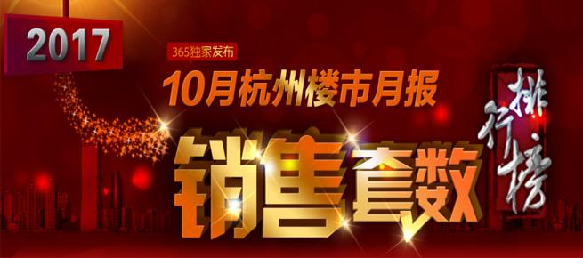 月报:10月杭州商品房共成交10594套 环比下降22.34%