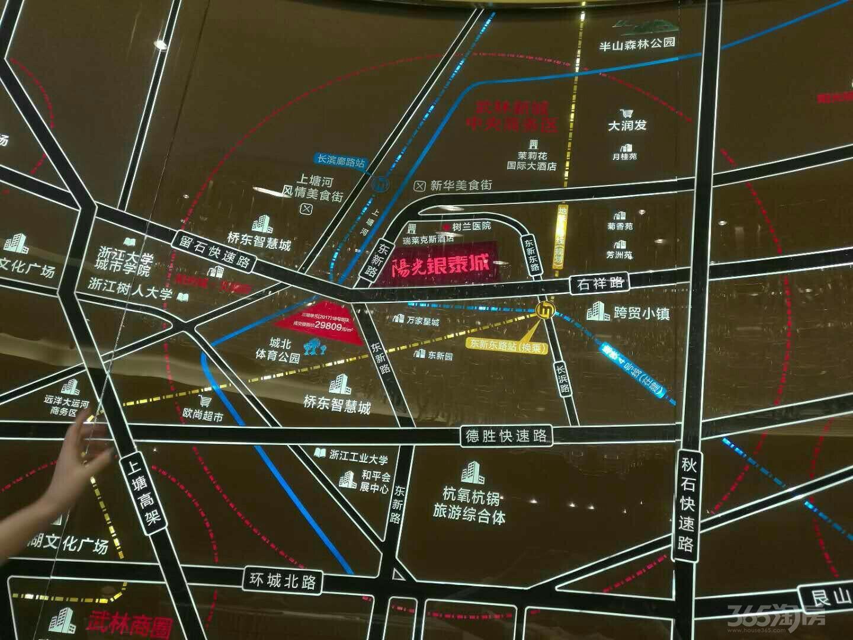 中大银泰城公寓1室1厅1卫62.09平米整租精装