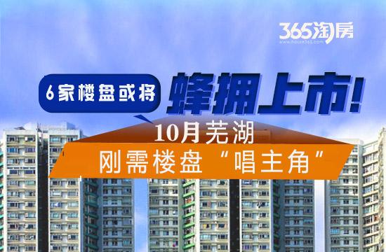 """十月芜湖6家楼盘或将上市新房源,刚需楼盘""""唱主角"""""""