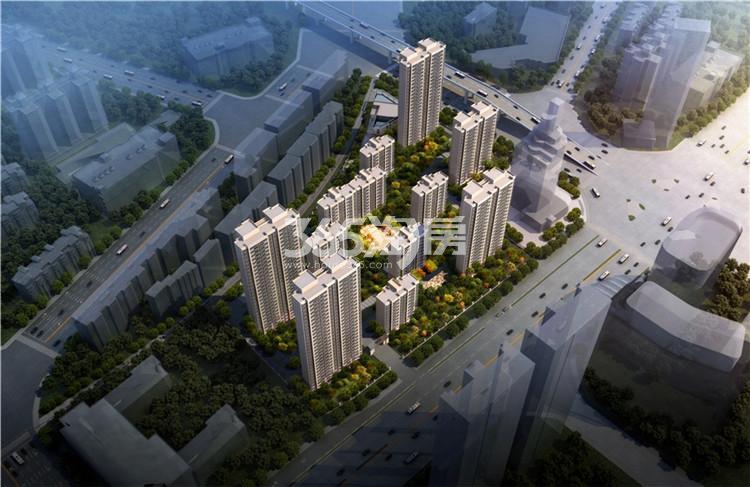 蚌埠华地公馆鸟瞰图
