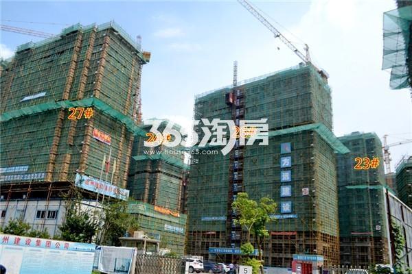 东方蓝海23#、24#、26#、27#工程进度(2016年8月摄)