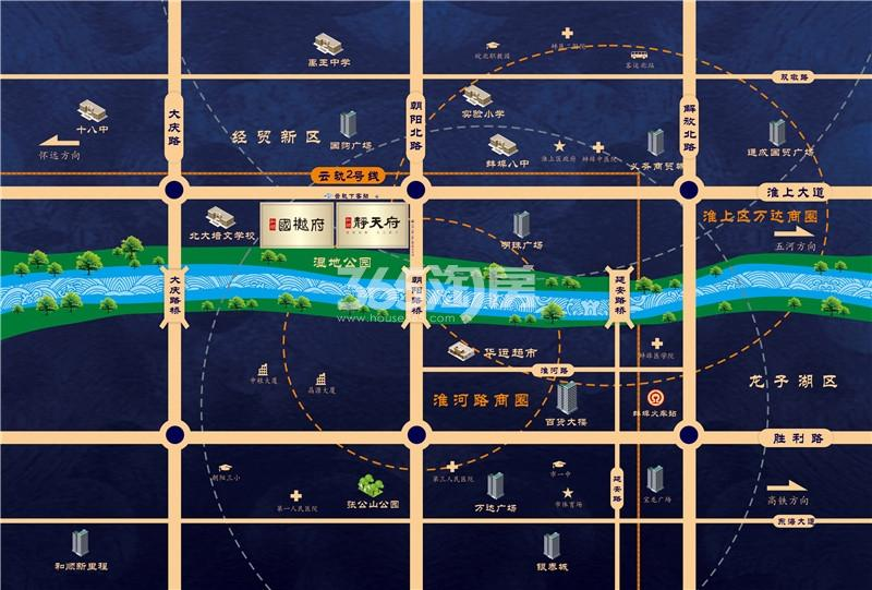 和顺国樾府·玖园交通图