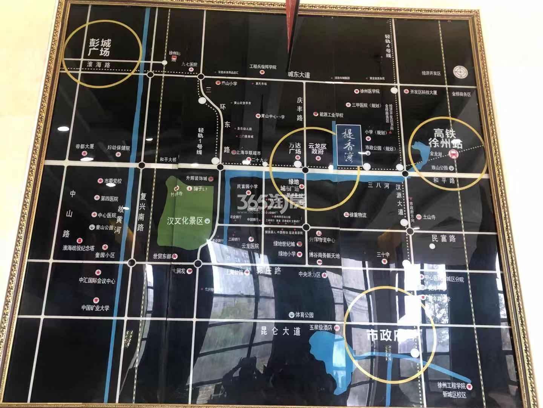 提香湾微公寓交通图