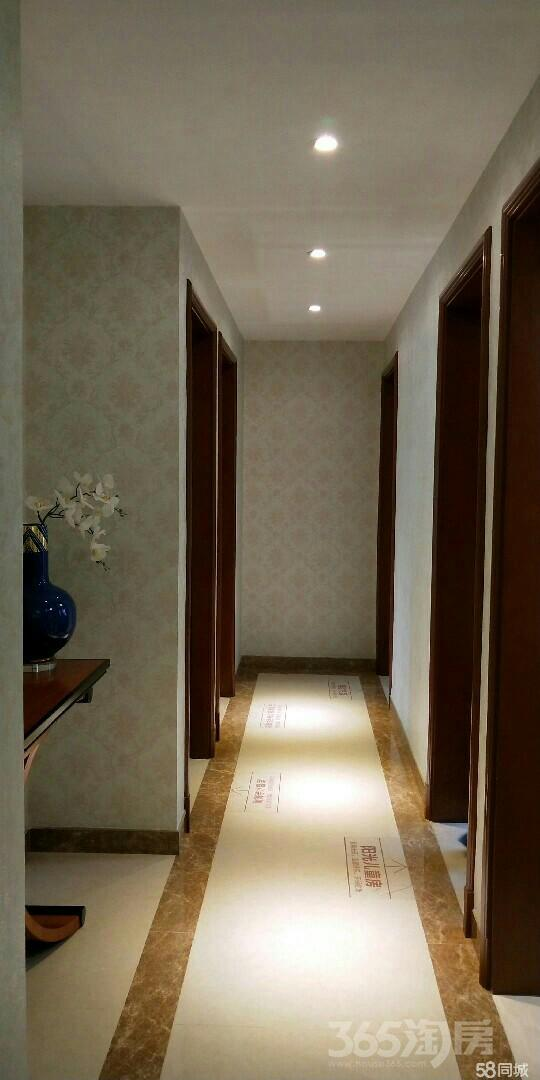 恒大翡翠华庭3室2厅2卫95平米2017年产权房精装