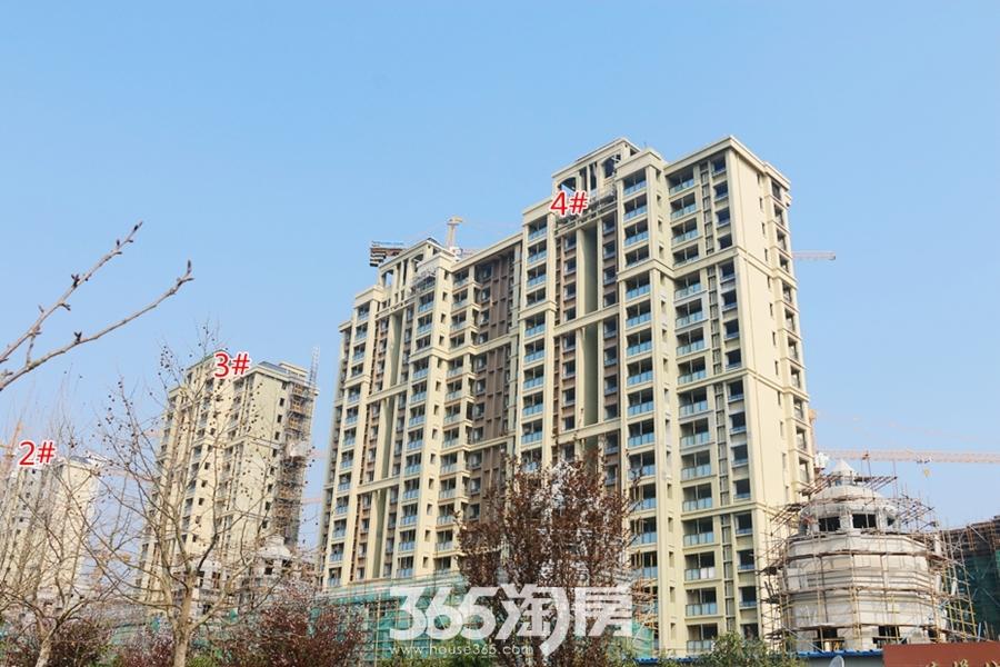 信德悦城2#、3#、4#楼最新工程进度图(2018.3摄)