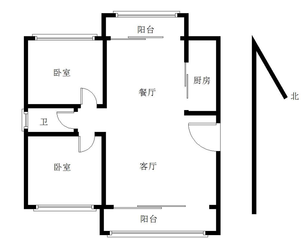 【365自营租房】城市之光大2房 精装全设 拎包入住