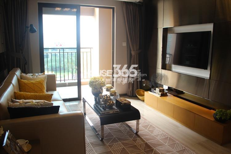 雅居乐国际花园D3户型59方样板房——客厅