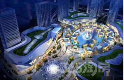 东誉城中央湖景区1室1厅1卫55平米毛坯产权房2018年建