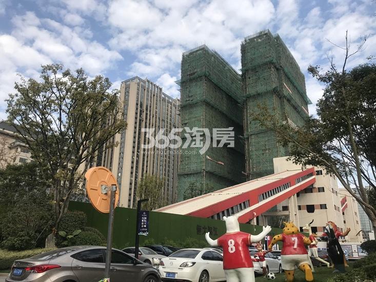 恒大滨江项目楼栋进展图(3.17)