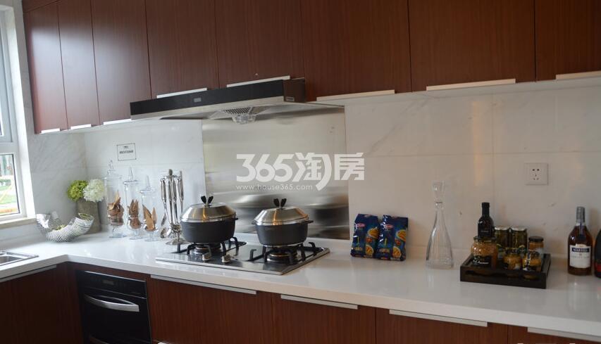 德杰德裕天下H1户型83平米样板间厨房