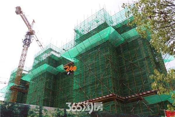新华联梦想城24#工程进度(2016年7月摄)