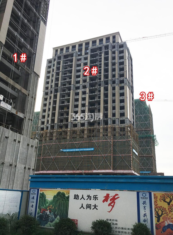 2018年6月底首开杭州金茂府一期1-3号楼实景