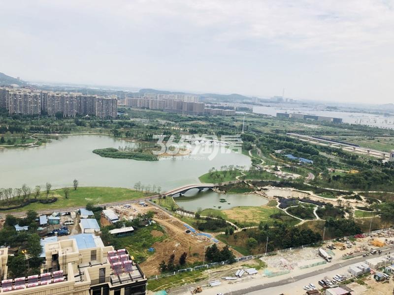 南京万达茂实景图