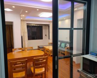 高铁都市花园2室2厅1卫85平米精装整租