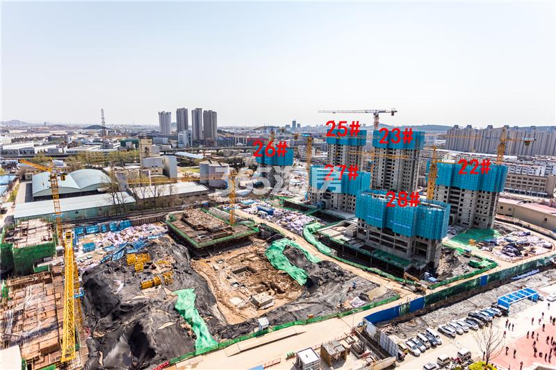 美的乐城22、23、25、26-27#楼施工图实景图(4.4)