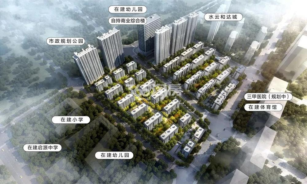 晓春城(都会钱塘东区)交通图