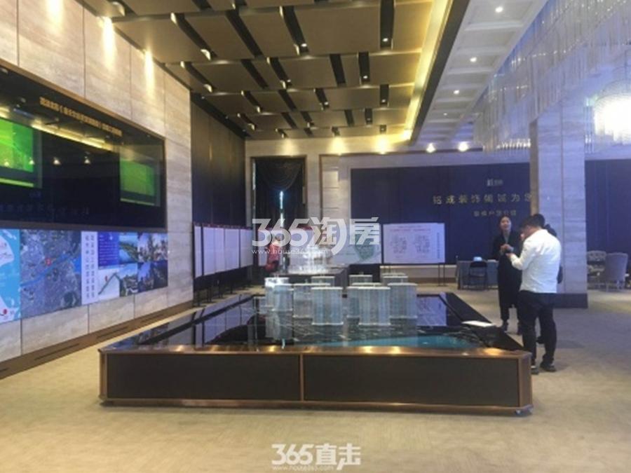 苕溪壹号沙盘实景图 2018年3月摄