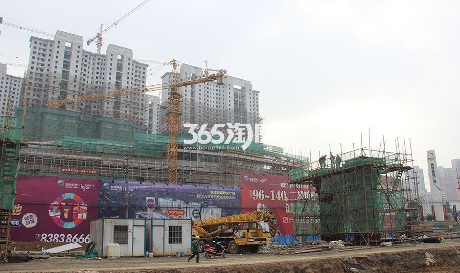 镇江新城吾悦广场实景图