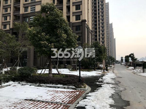 蚌埠国购广场 二期小区内景 201802