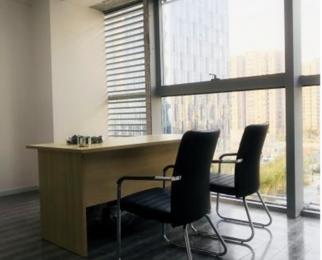 南站绿地之窗 精装办公房 125平米 带家具 随时如驻