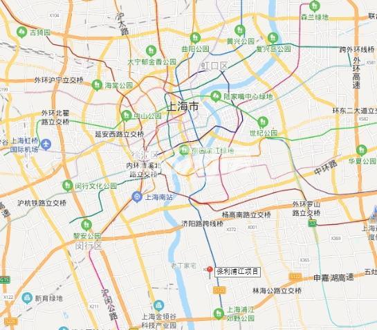 保利锦上交通图