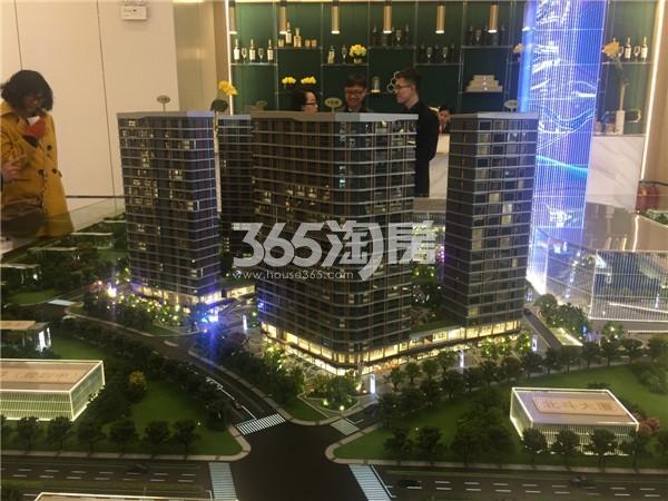 龙湖北宸星座售楼处沙盘(2.2)