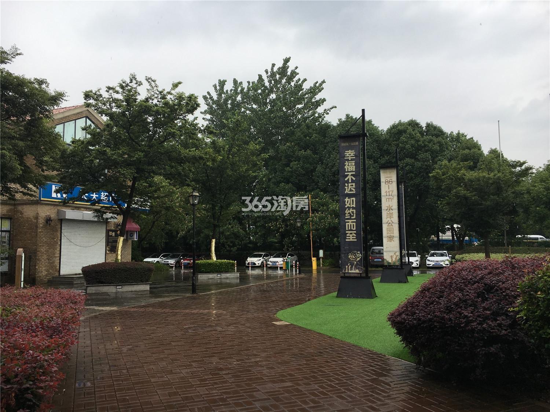 翠屏城小区商业和道路(12.5)