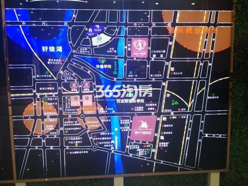 浩创奥园交通图