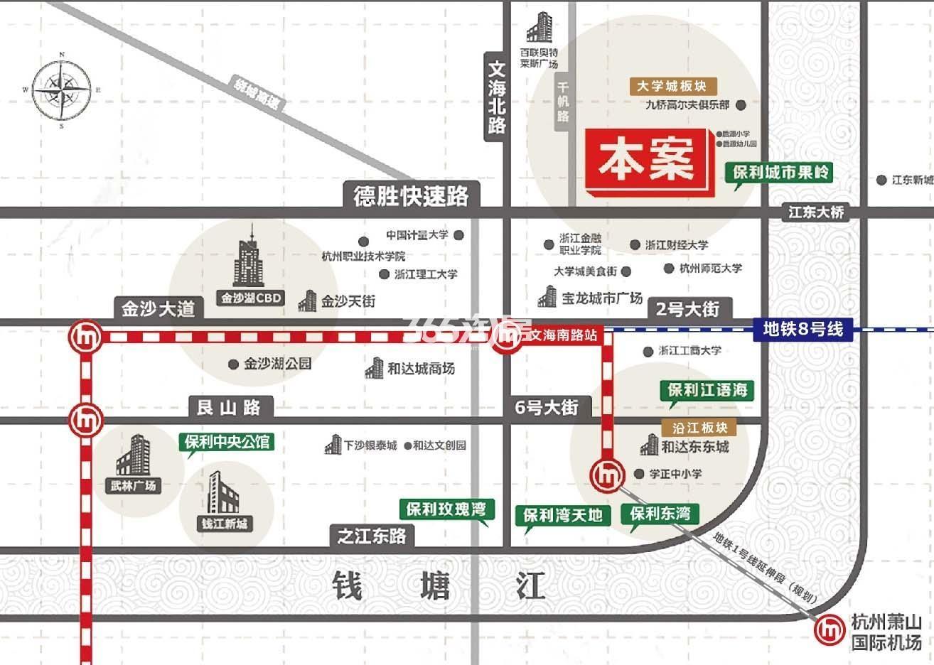 中国铁建保利像素交通图
