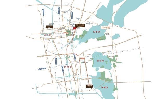 华润红橡世家交通图