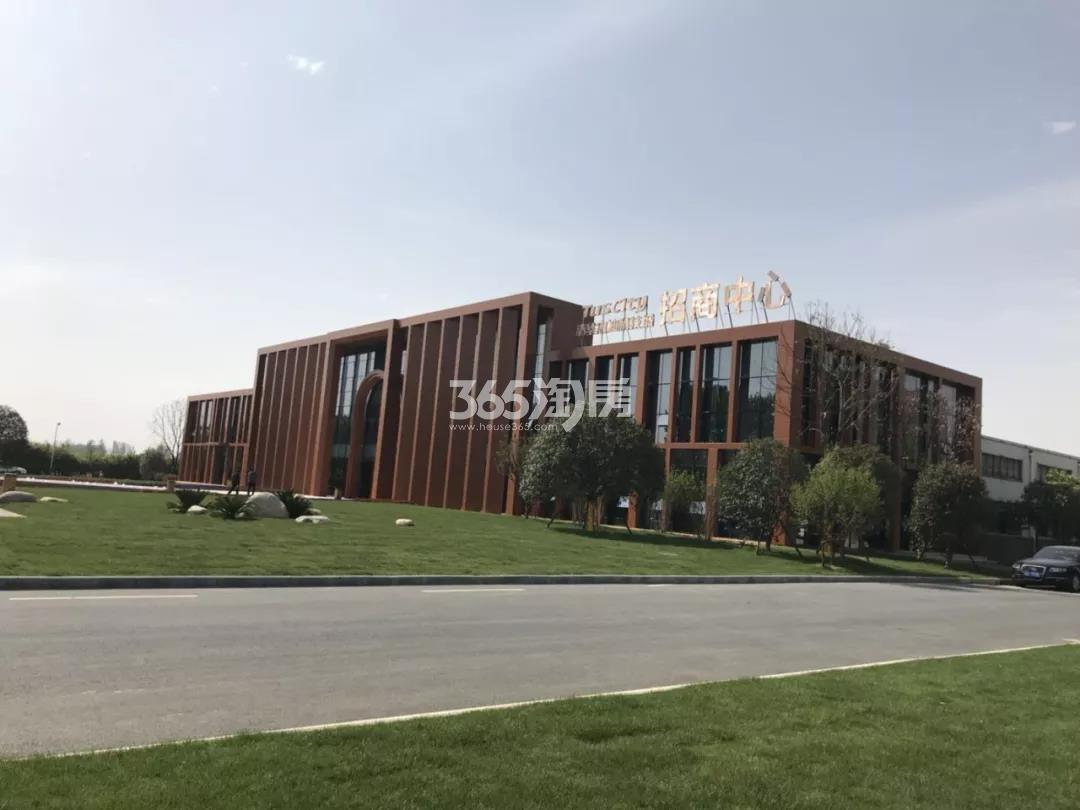 启迪科技城水木园实景图