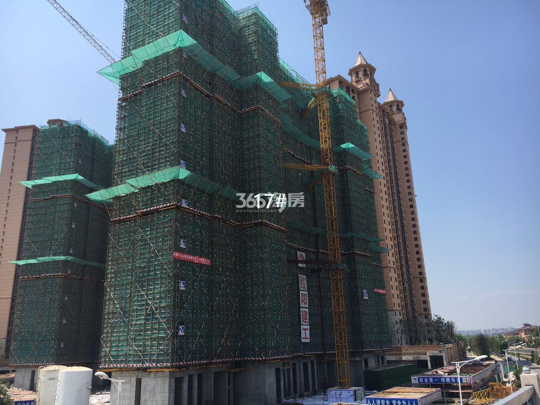 雅居乐滨江国际17号楼实景图(5.15)