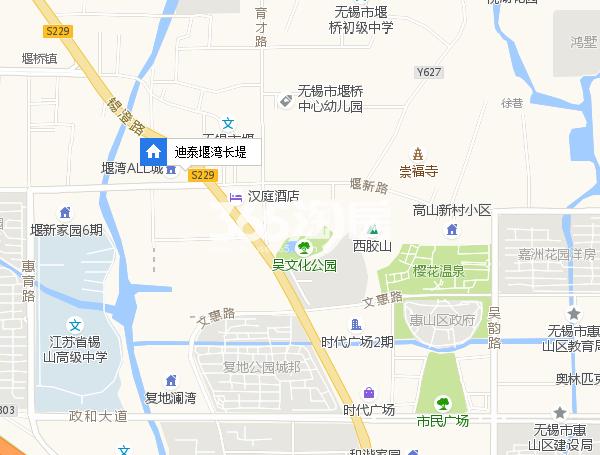 迪泰堰湾长堤交通图