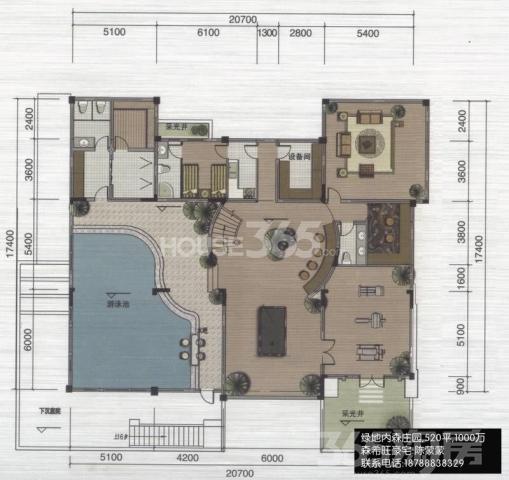 内森庄园类独栋别墅,200平院子,豪宅别墅,仅售1000万!