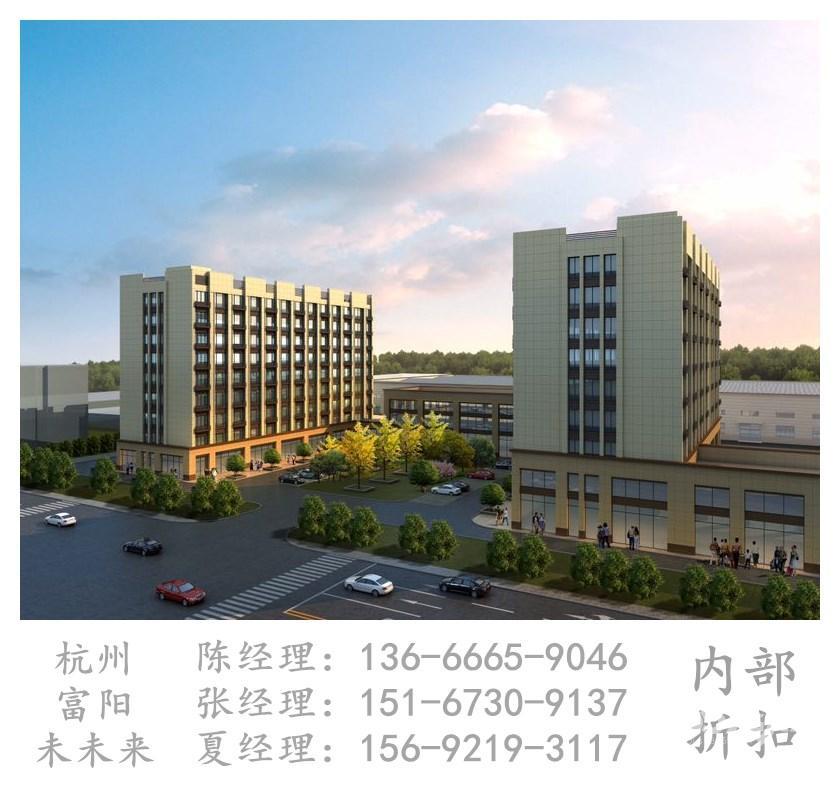 杭州富阳未未来42�O2017年可注册公司精装