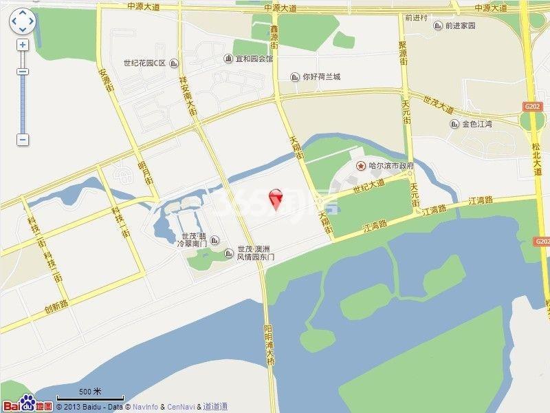 金河湾壹号实景图